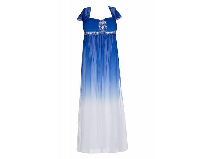 Ashley brooke kleid nachtblau