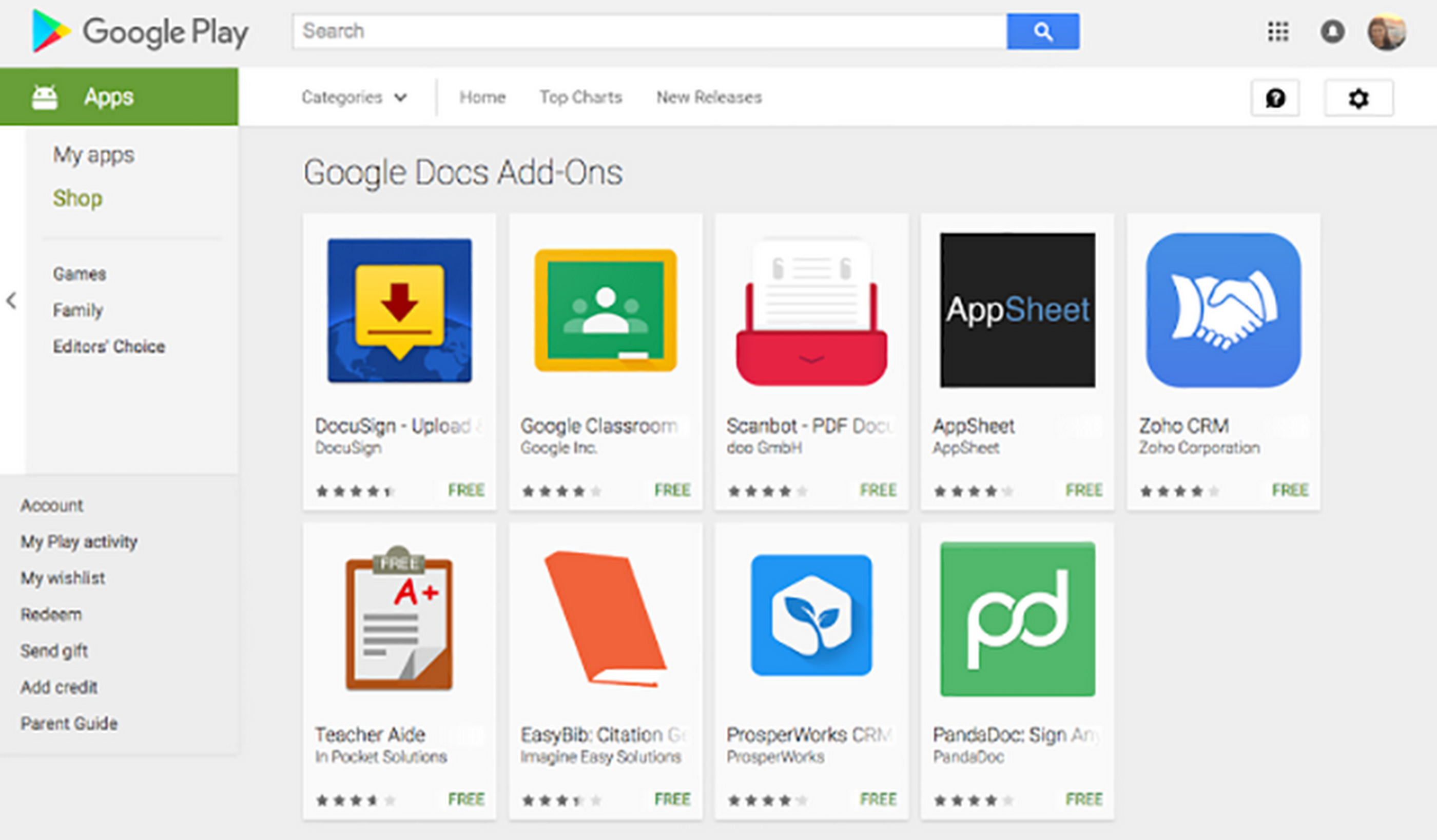Introducing Android addons for Docs and Sheets Mobile