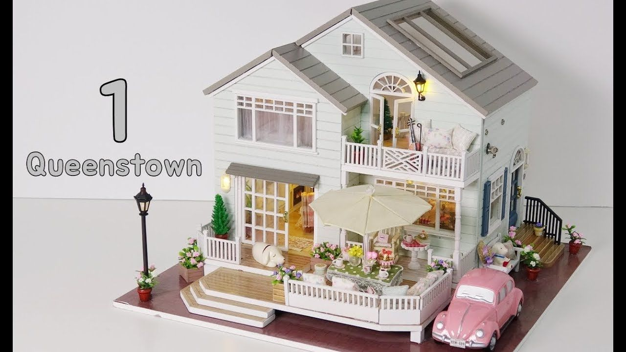 DIY Miniature House Kit * New Zealand Queenstown * 뉴질랜드 퀸스