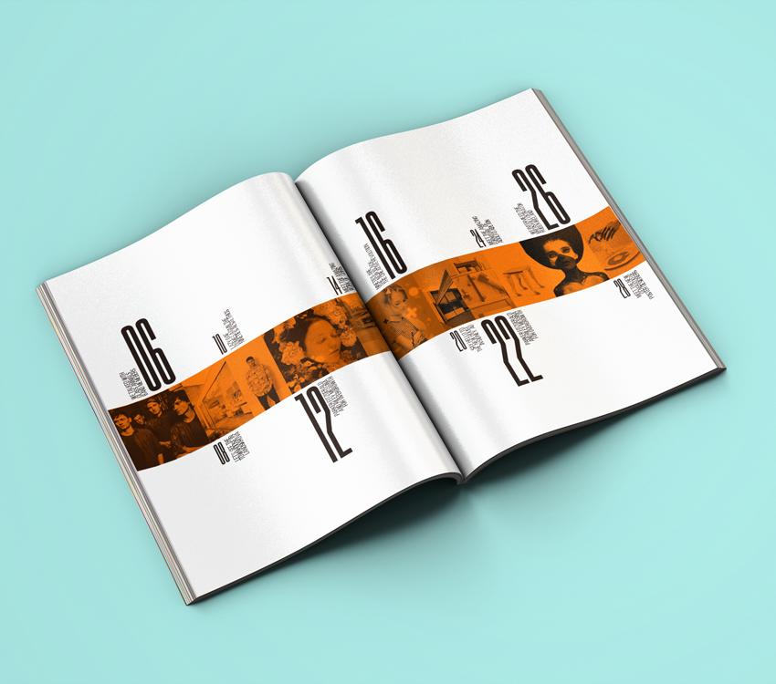 Oh Hai Magazine On Behance Magazine Article Inspiration Book