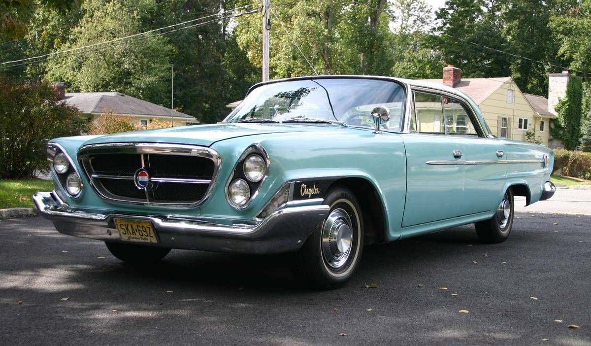 This Is A 1962 Chrysler 300 The Body Style Is A 4 Door Hardtop