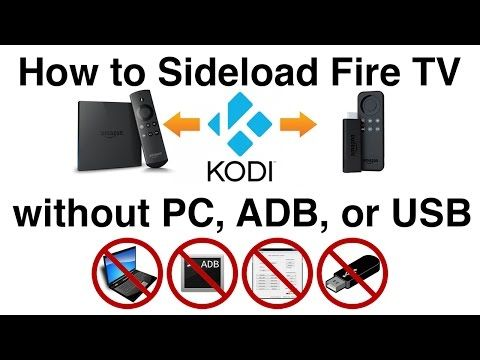 How to sideload apps like Kodi onto the Fire TV — Using
