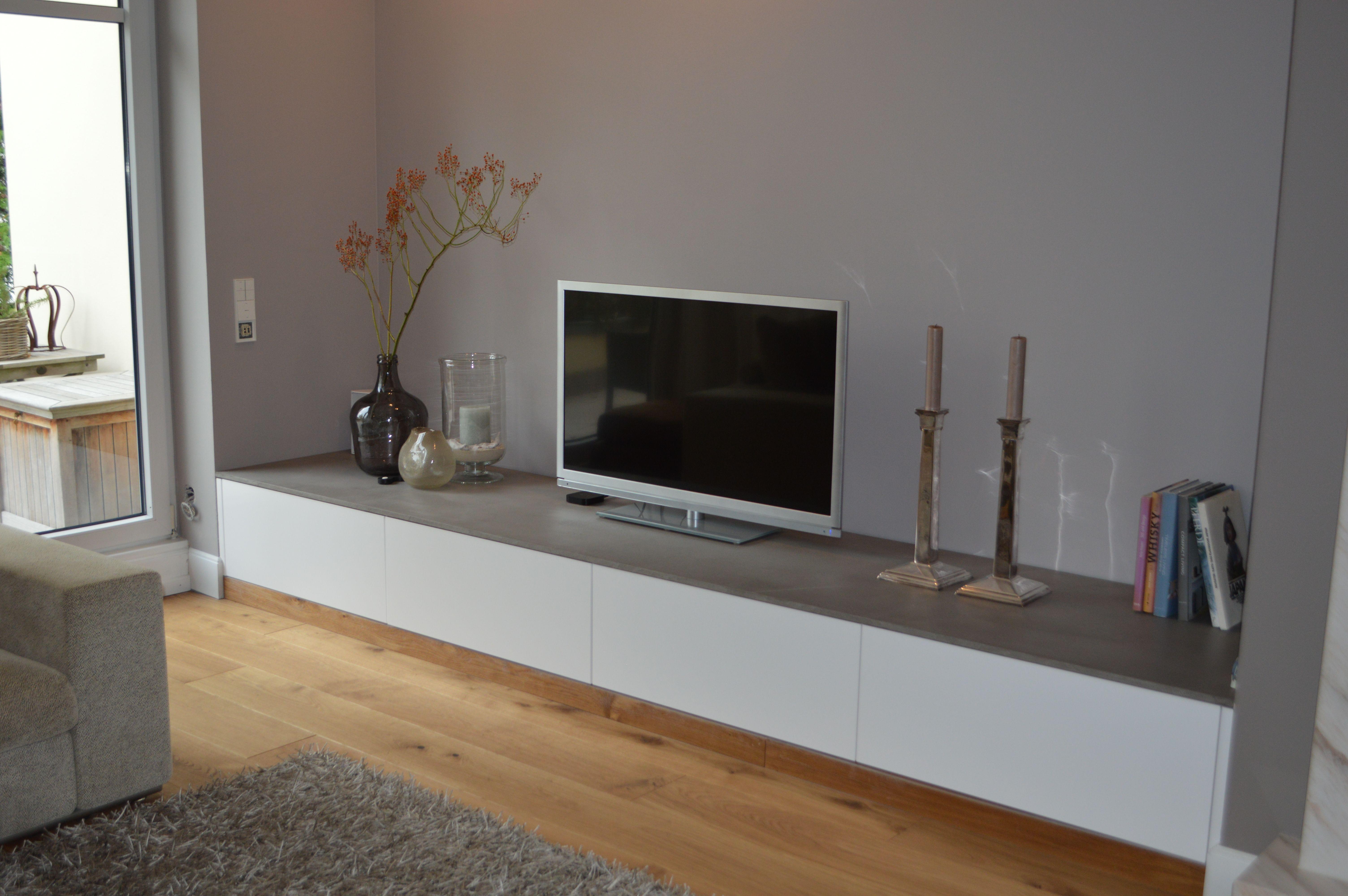 Sideboard Nach Mass Wandgestaltung Wohnzimmer Wohnzimmer