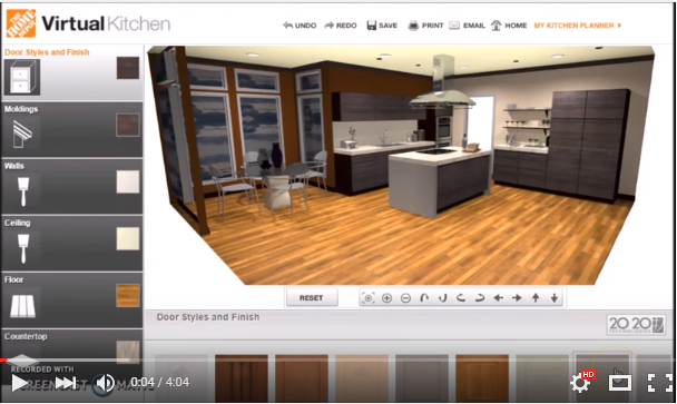 Homedepot Virtual Kitchen  Projects To Try  Pinterest  House Unique Lowes Virtual Kitchen Designer Design Ideas