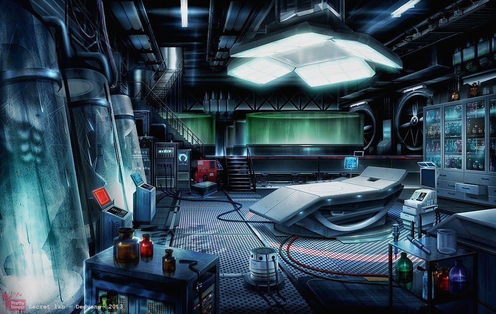 secret laboratory Google Search Sci fi environment