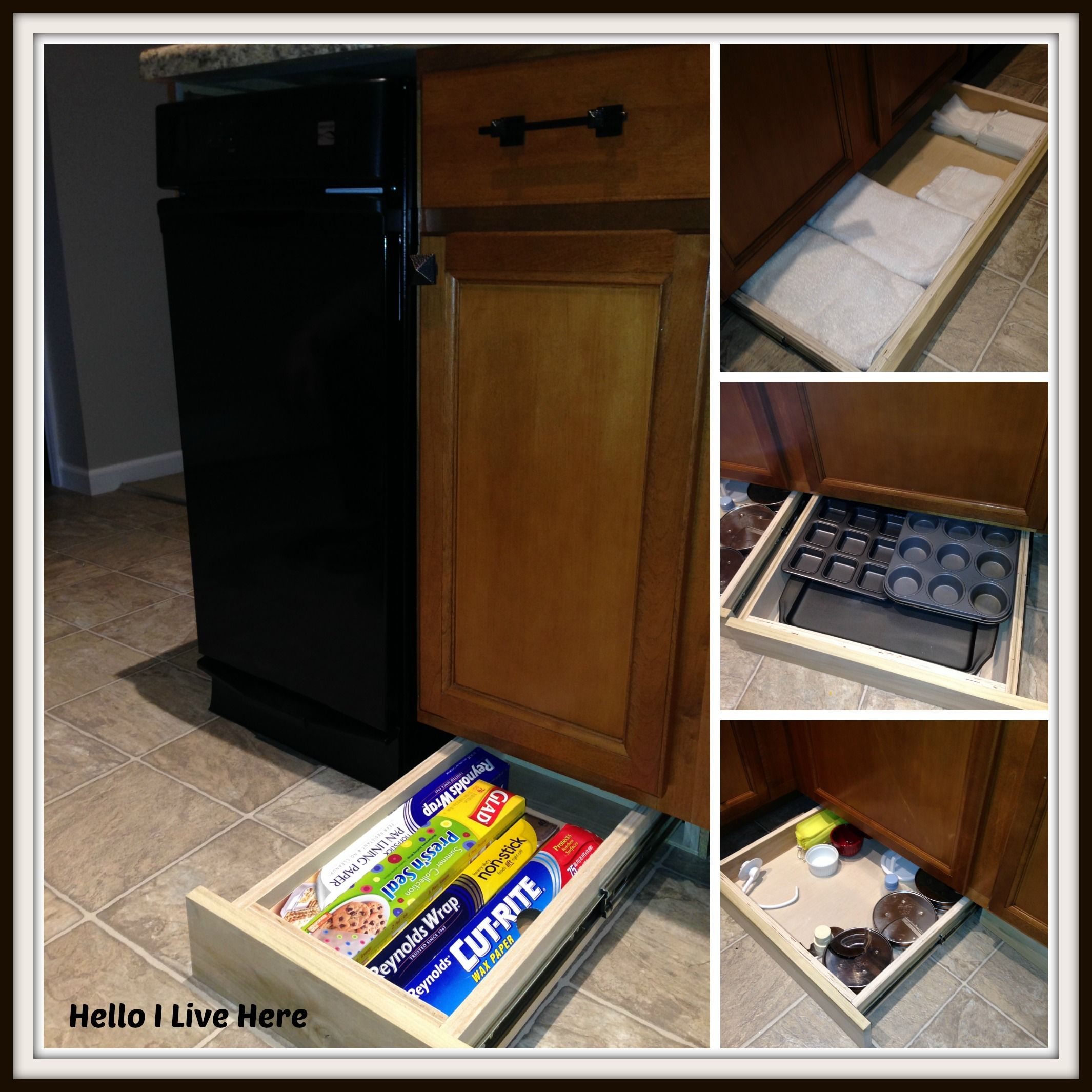 Reclaim Unused Space Below Your Kitchen Cabinets With