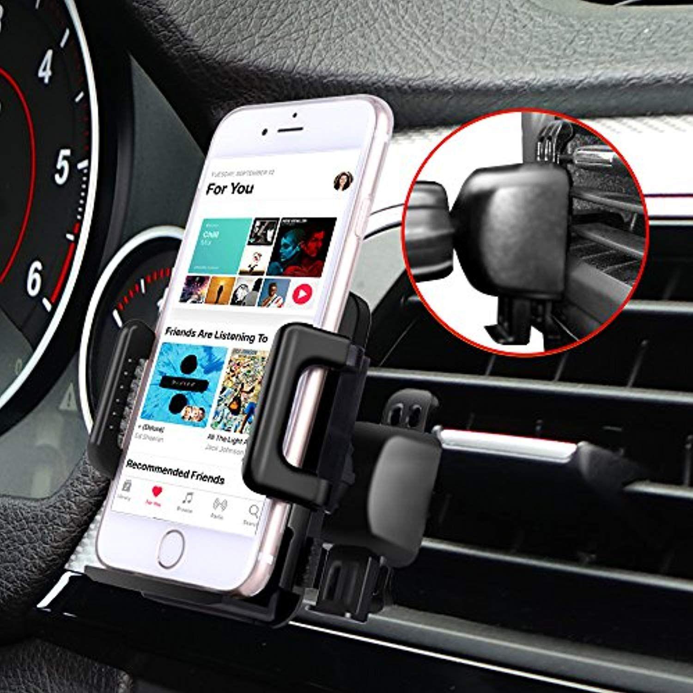 Car Mount Super More Cell Phone Holder For Car Vent Phone Mount Holder Bracket Cradle For Iphone X 8 Plus Car Phone Holder Cell Phone Holder Samsung Galaxy S9