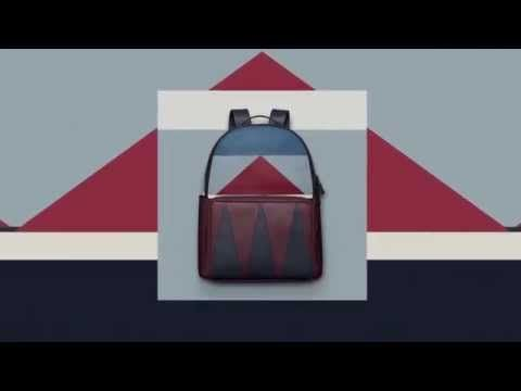VALENTINO MEN'S COLOR BLOCK COLLECTION - YouTube