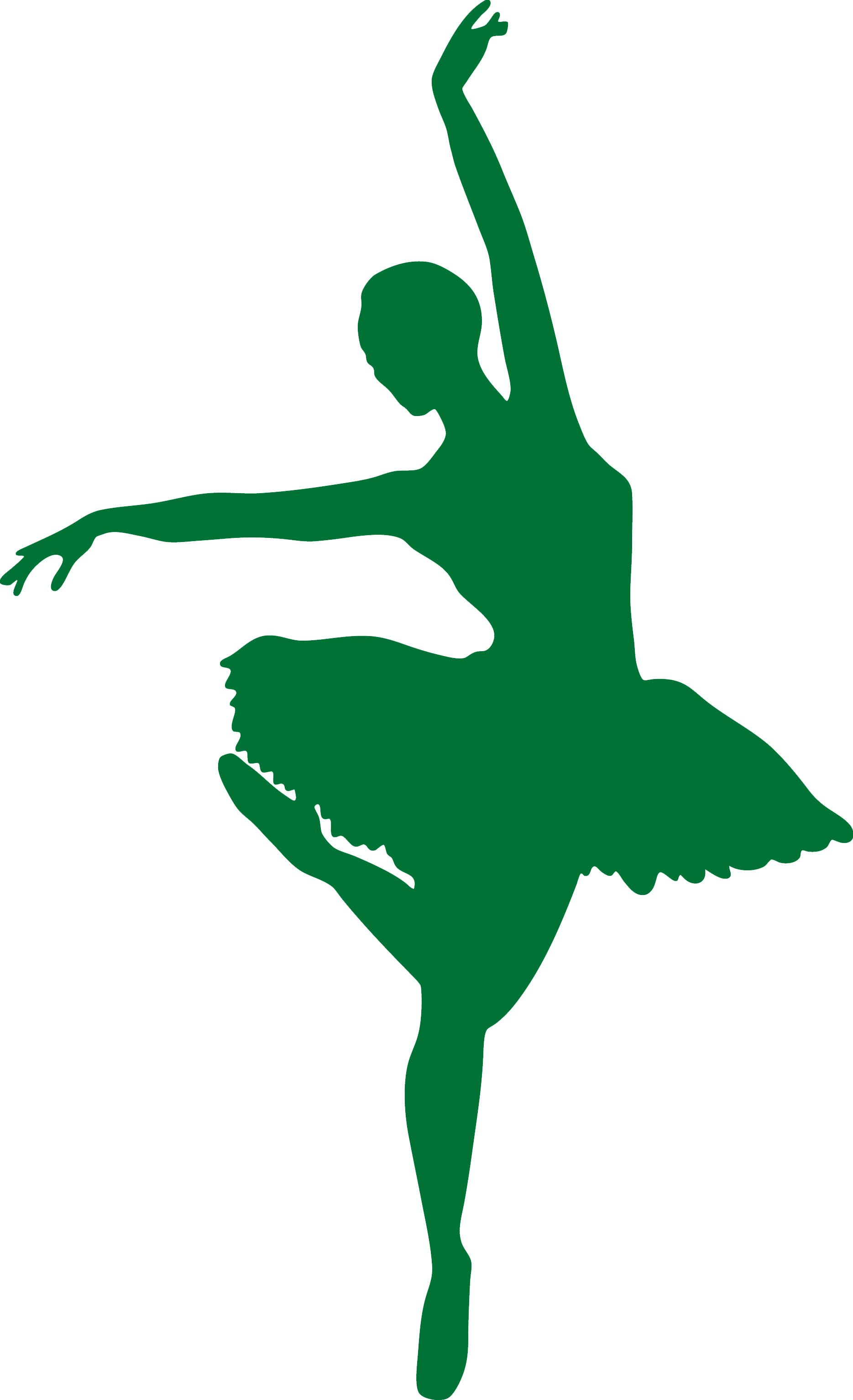 Sticker Mural Danse - Danseuse 10