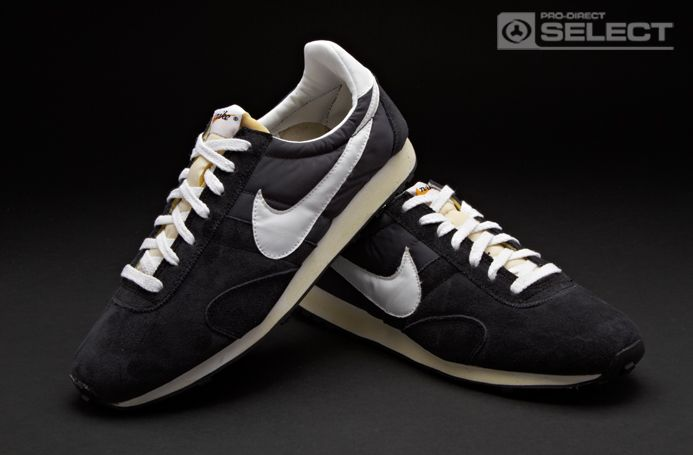 2252dbe25d0 Nike Trainers - Nike Pre Montreal Racer Vintage - Retro Running - Mens  Shoes - Mens Trainers - Black - Summit White - Anthracite