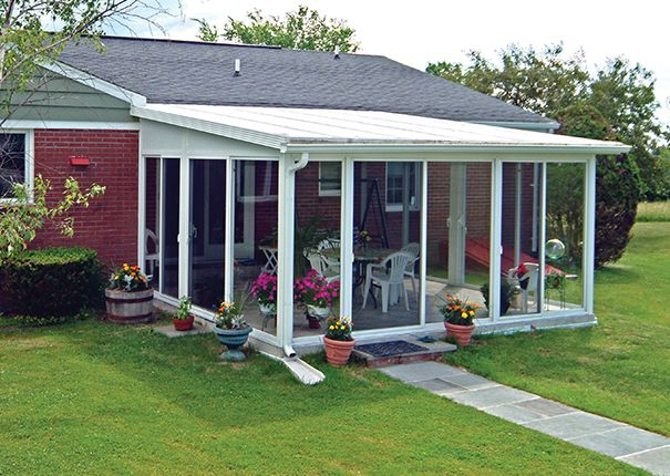 Sunroom Kit, EasyRoom™ DIY Sunrooms   Patio Enclosures ... on Cheap Patio Enclosure Ideas  id=69958
