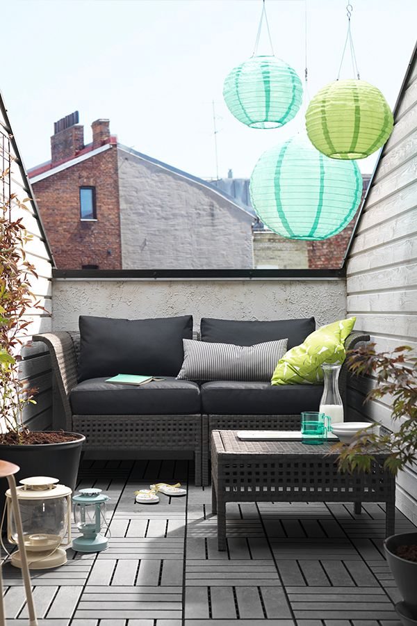 IKEA Fan Favorite: KUNGSHOLMEN Outdoor Furniture Series. By Combining  Different Seating Sections You Can Create A Sofa In A Shape And Size That  Perfectly ...