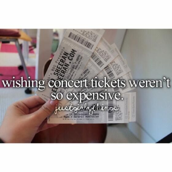 Amen!! I want to go to soo.. Many concerts!!