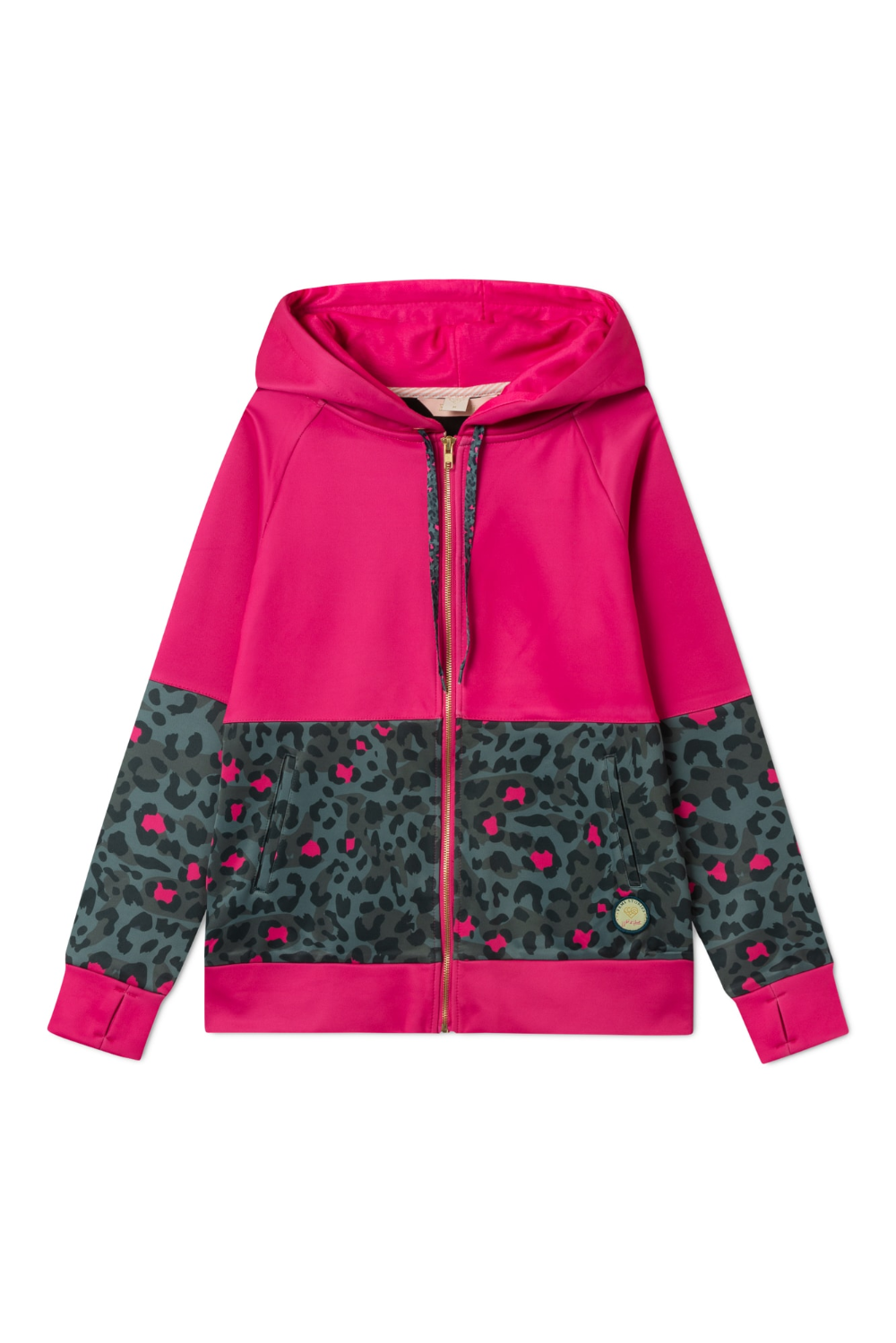 Bluza Tito Dark Green Leopard Outlet Online Athletic Jacket Sweaters