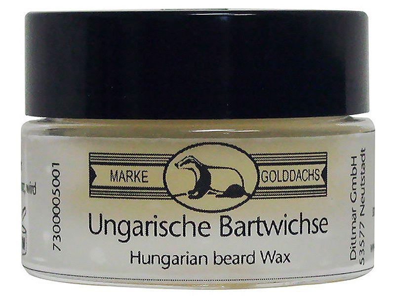 pfeilring golddachs beard set
