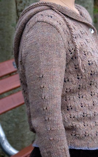 03812a7b8 Ravelry  Sweet Oak Hooded Cardigan pattern by Megan Goodacre ...