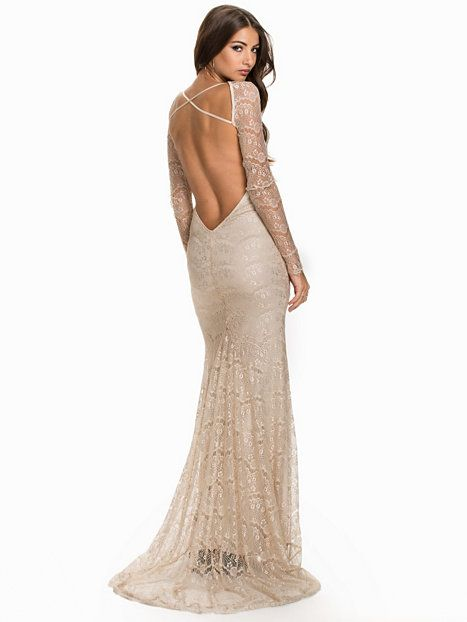 Nude Lace Party Maxi Eve Dress Clothing Nly Tail Dresses nXSqw5xpzz