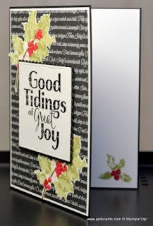 JanB Handmade Cards Atelier: Good Tidings