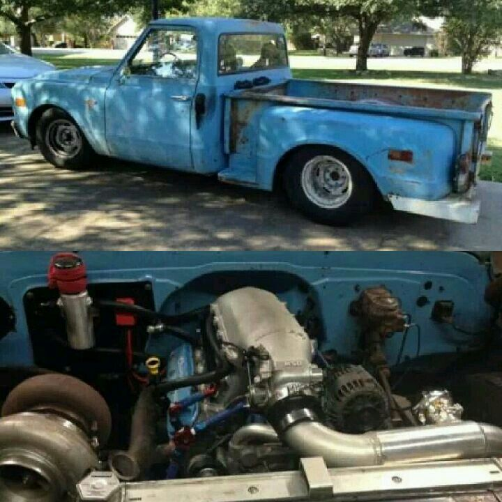 Farm truck #2  408 LSX Stroker, Dart Pro 1 heads, High ram