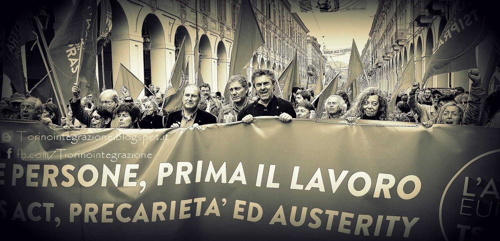 Torino Inte(G)razione: REPRESSIONE - LOCATELLI (PRC): AL 1° MAGGIO a TROR...