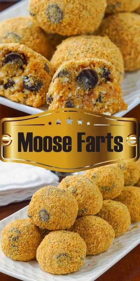 Farts  A super easy to prepare nobake cookie treat that kids will love and maybe giggle a little at the name tooMoose Farts  A super easy to prepare nobake cookie treat t...