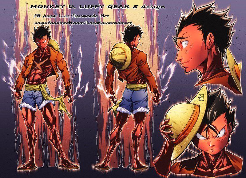Monkey D Luffy Gear 5 Design By Marvelmania Deviantart Com