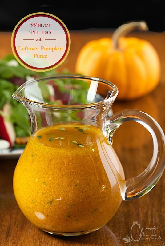 How about some super creative ways to solve the age old question: What To Do With Leftover Pumpkin Puree. You might be surprised by the answers!