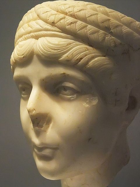 portrait of young w hadrianic era hairstyle r st  portrait of young w hadrianic era hairstyle r 1st half of the 2nd century ce