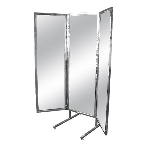 Magnificent Tri Fold Mirror Stainless | Furniture/Decor for kids ...