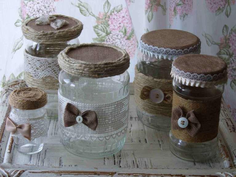 Decorazione Vasetti Vetro.Decorazioni Fai Da Te Decorare Vasi In Vetro Foto 35 41