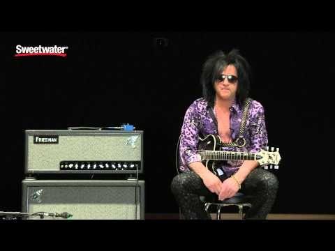 Friedman SS-100 Steve Stevens Tube Amp Demo by Sweetwater Sound - YouTube