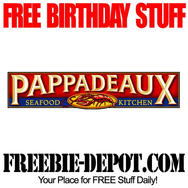 photo regarding Pappadeaux Coupons Printable titled ▻▻ BIRTHDAY FREEBIE - Pappadeaux Seafood Kitchen area - Cost-free