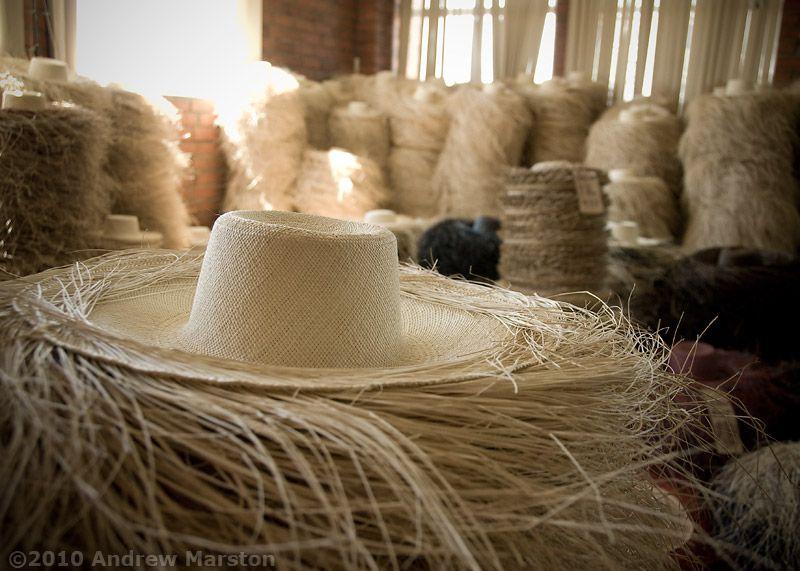 dc02d0deb Panama Hats in a Cuenca Hat Factory - Ecuador Photos   Hats Off to ...