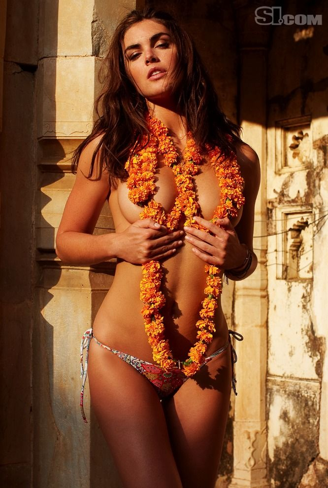 Hilary Rhoda - Sports Illustrated Swimsuit 2010 Location ...