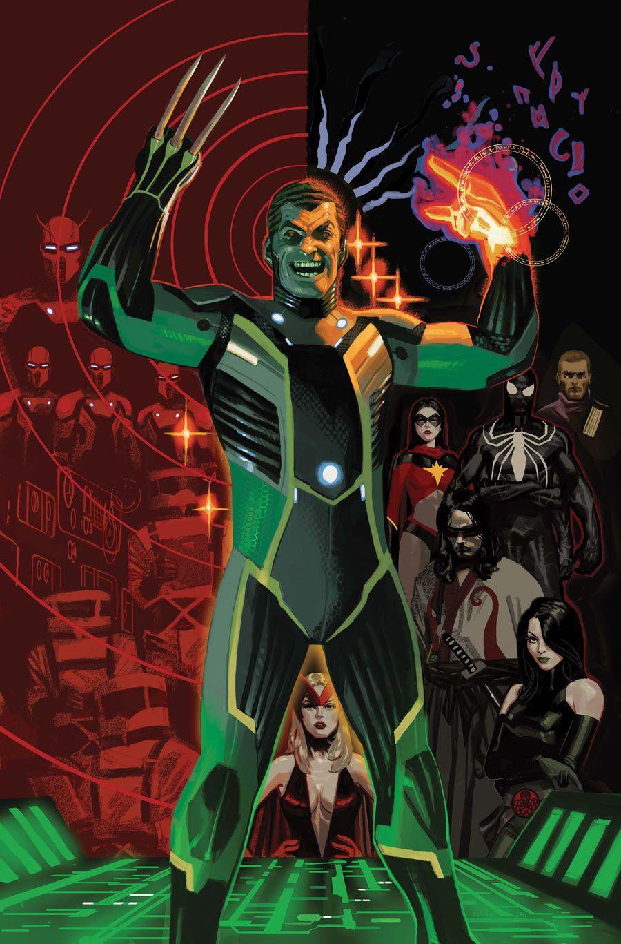 Norman Osborn The Dark Avengers By Daniel Acuna Norman Osborn Comics Marvel Posters
