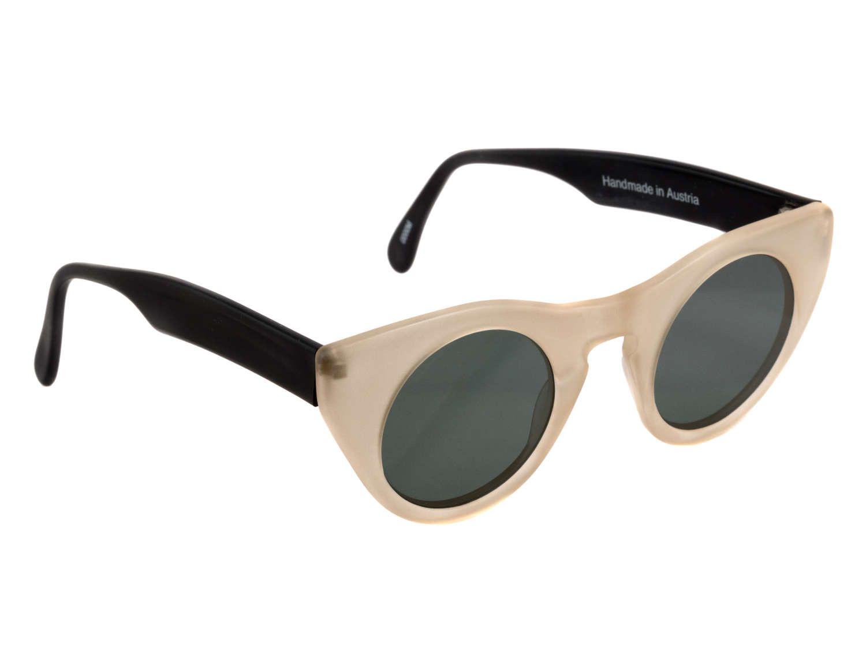 77209914c3 Vintage sunglasses 80s made in Austria by Schau Schau. Authentic  translucent sunglasses   Steampunk sunglasses   Round cat eye sunglasses    Round vintage ...