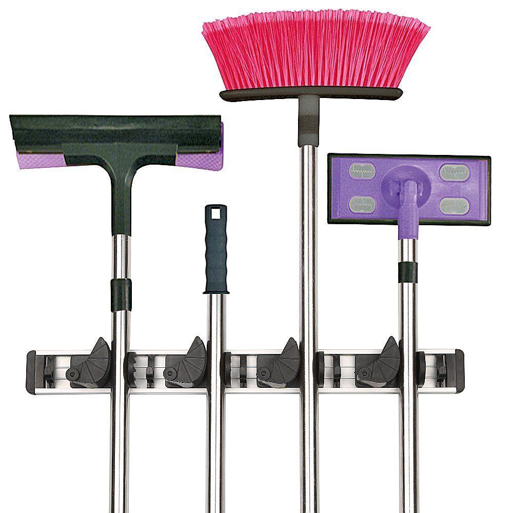 Gerätehalter, Werkzeugleiste für 8 Geräte, Garten Werkzeug Geräte ...