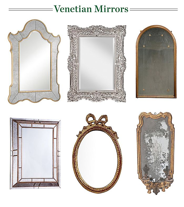 Classic Venetian Style Mirrors Guide To Furniture