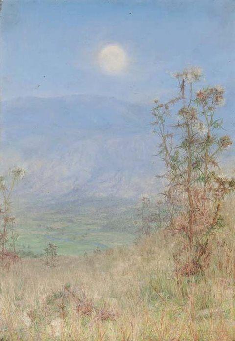 Anna Alma Tadema (British painter) 1867 - 1943 The Idler's Harvest, 1900