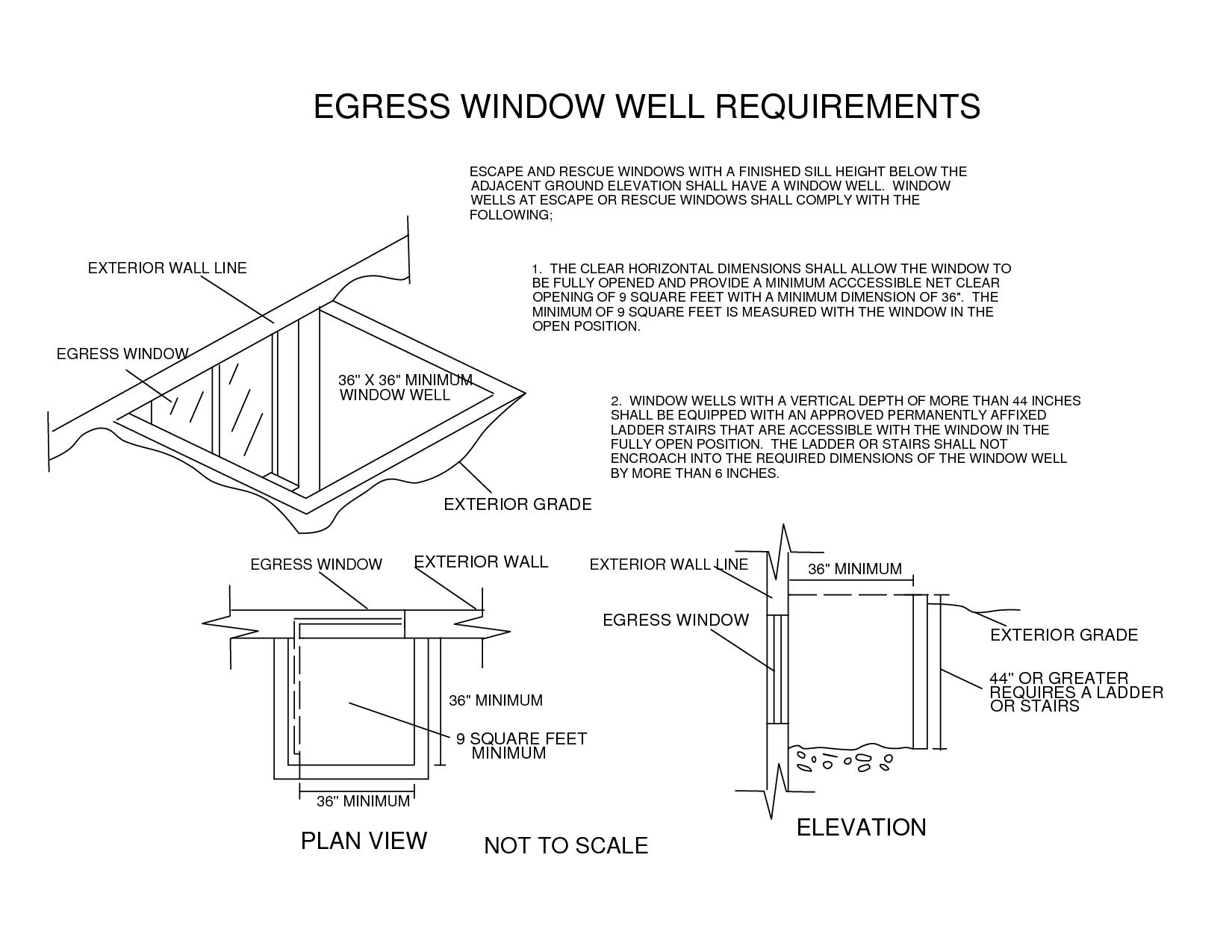Egress Window Requirements 28 Images Egress Window Egress Window Egress Window Well Window Well
