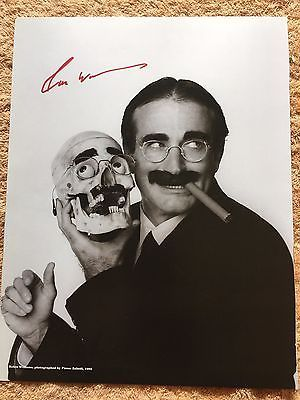 ROBIN WILLIAMS AUTOGRAPHED 11x14 BOOK PHOTO DRESSED UP AS GROUCHO MARX