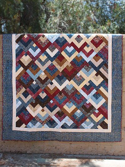 Top Down Quilt Pattern - #429999 ~ easy ~ much simpler than it ... : different quilting patterns - Adamdwight.com