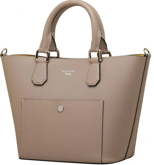 764d132f9 Bag / bolsas Bolsa de mão Bolsa de couro feminina carmim manoela taupe -  Carmim Store