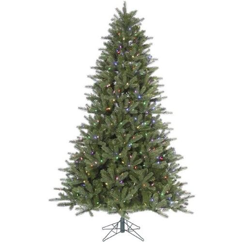 Kennedy Fir Christmas Tree: 12 Ft. X 82 In. Kennedy Green Fir Tree With 2050 Mauve LED