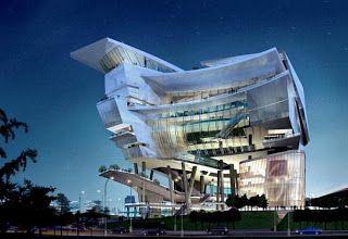 Singapur - Edificio del Centro  cultural.
