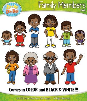 African american family | African american family, Family cartoon,  Magazines for kids