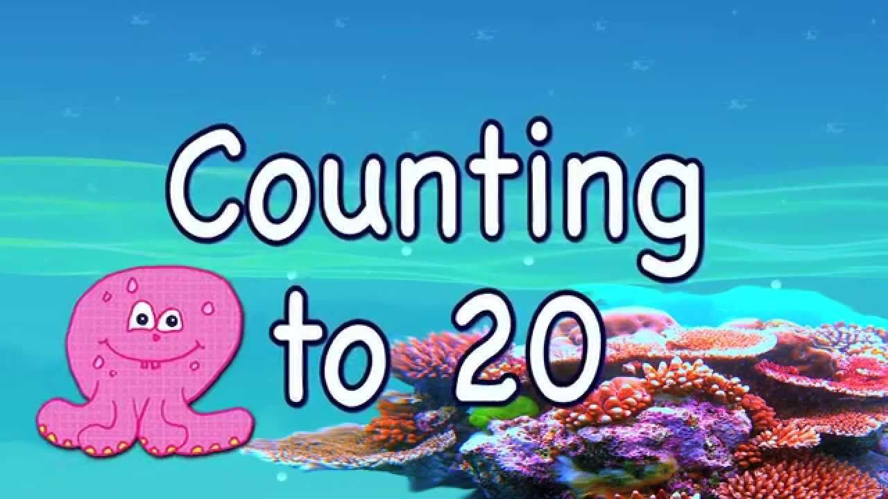 Count to 20 learning for toddlers and preschool children