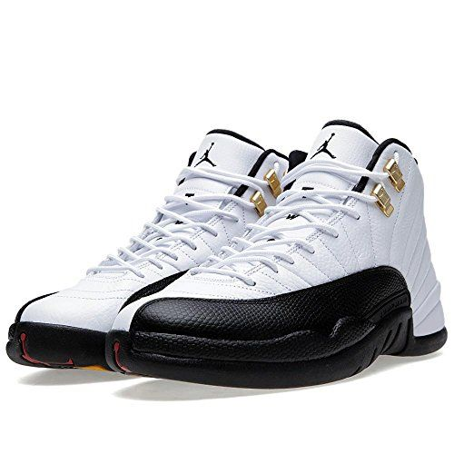 b461a4642798f4 Air Jordan 12 Retro  Taxi  Men s Basketball Shoes White Black-Taxi-Varsity  Red 130690-125 (11 D(M) US)    Check this awesome product by going to the  link at ...