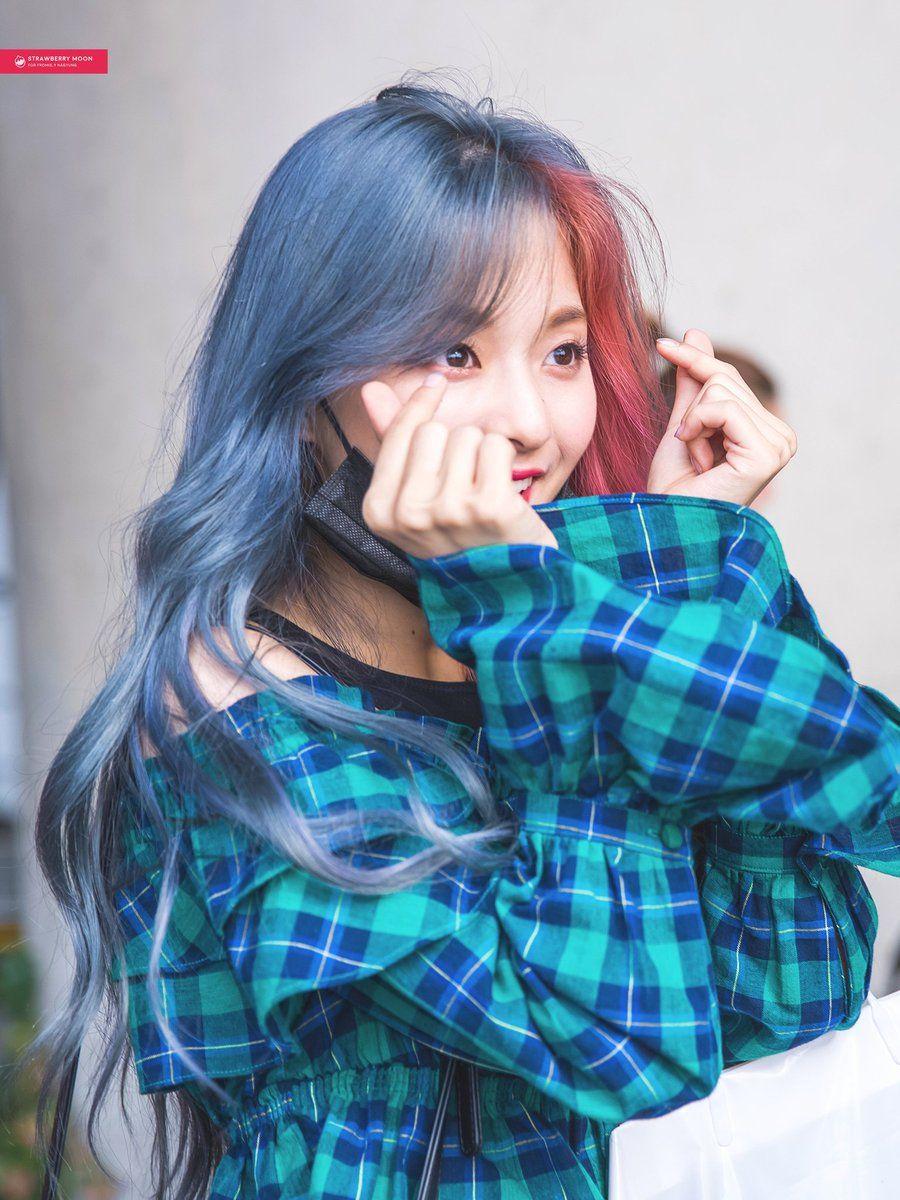 Lee Nagyung Girl Hair Colors Kpop Girls Kpop Girl Groups