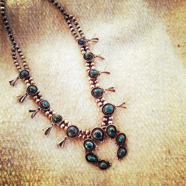 Squash Blossom necklace - always a classic
